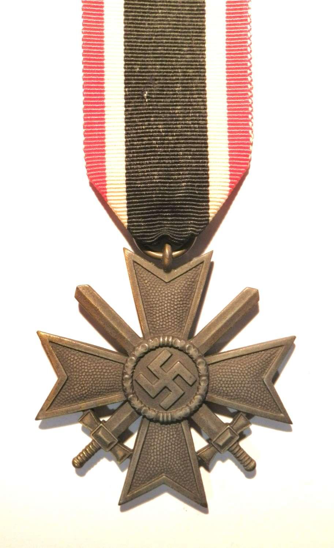 War Merit Cross, 2nd Class with Swords. Maker marked 127.