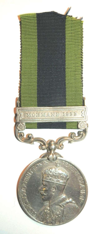 Indian General Service 1908. 62401 NK. Ghazan 14 A.T. Coy.