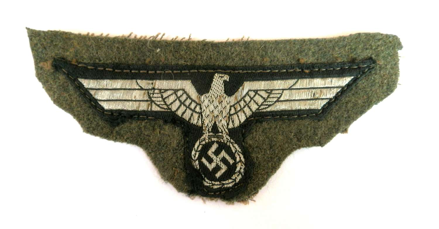 Wehrmacht NCO Breast Eagle.
