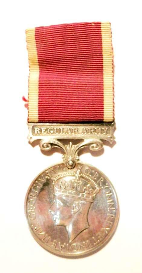 Army L.S. & G.C. Medal Sgt C.E. Bryant. Royal Signals.