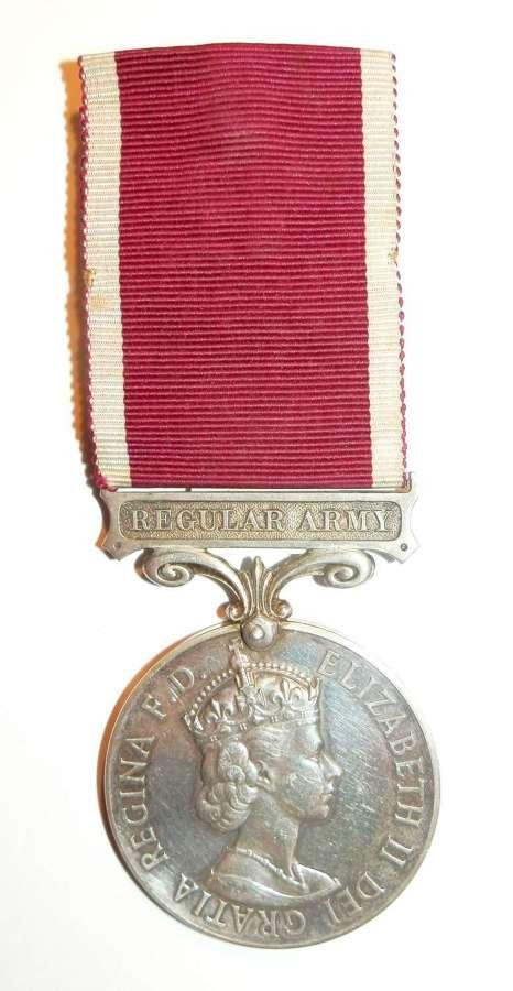 Army L.S. & G.C. Medal L/Cpl E.E. Hopkins. Royal Engineers.