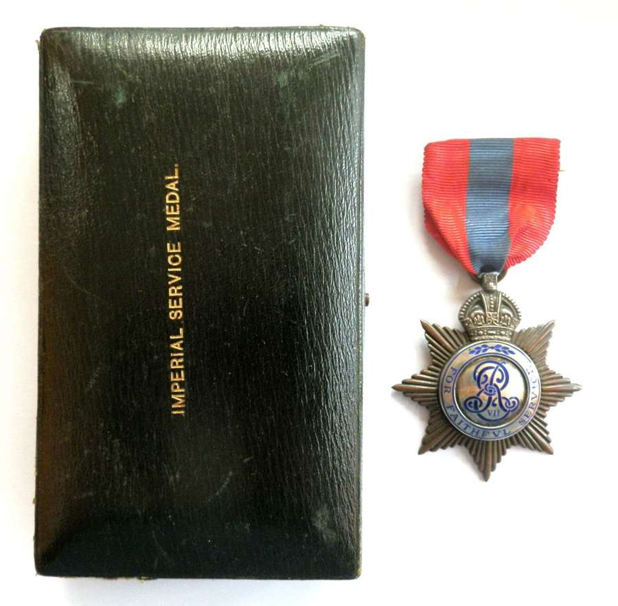 Imperial Service Medal (EDVII)