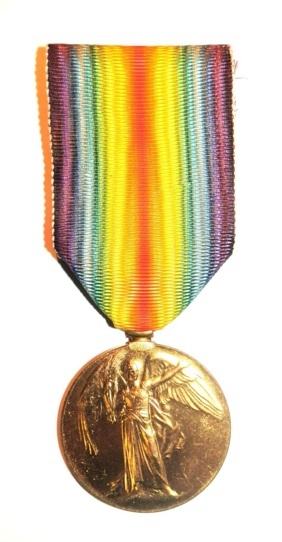 Victory Medal. Surgeon James Stuart Geikie, Royal Navy/R.A.M.C.