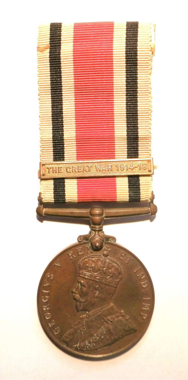 Special Constabulary Long Service Medal. Charles Hayes.