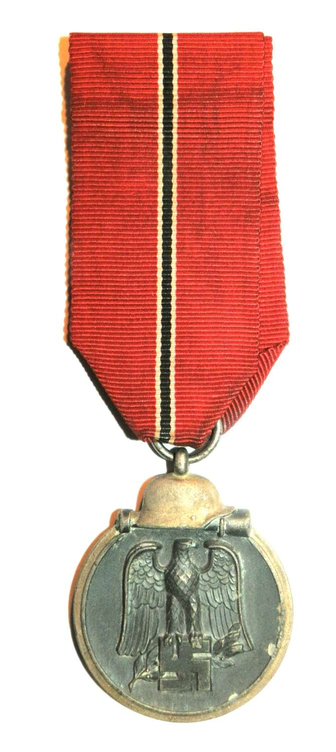 Winter Campaign Medal Russia 1941-42. (Eastern Front Medal) Marked 110