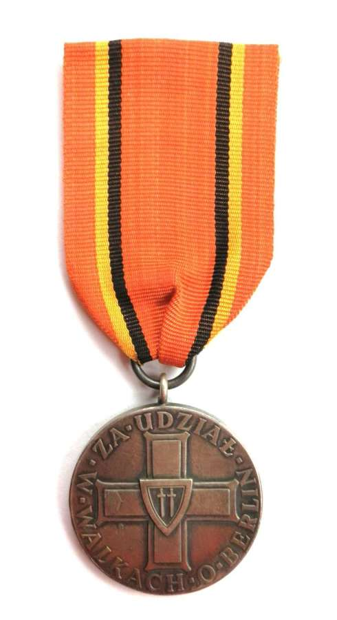 Polish Medal for the Battle for Berlin.