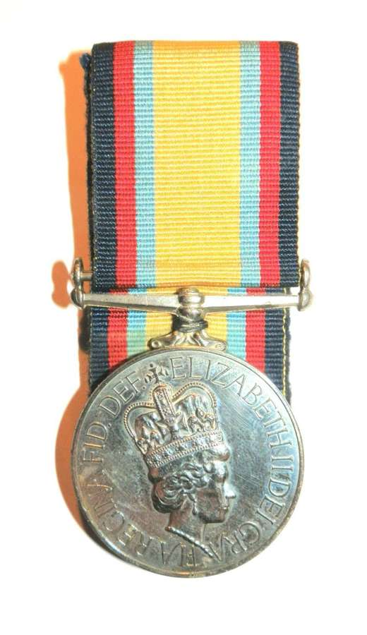 Gulf Medal 1990-91. S.A.C. S. A. Moore. RAF.