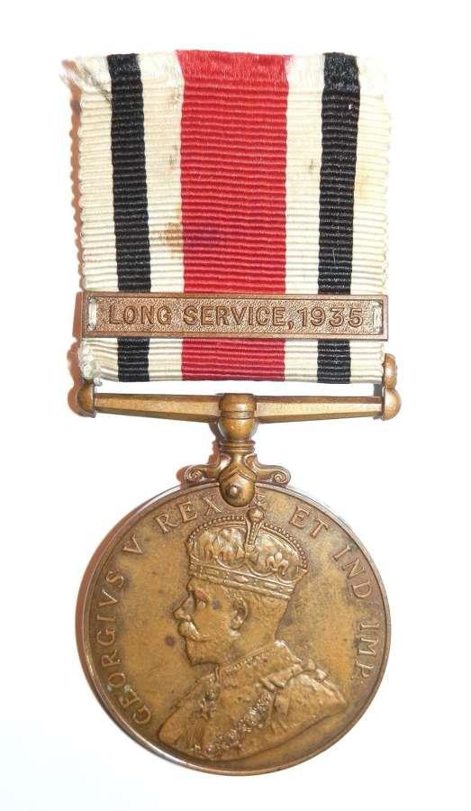 Special Constabulary Long Service Medal. John W. Millen.